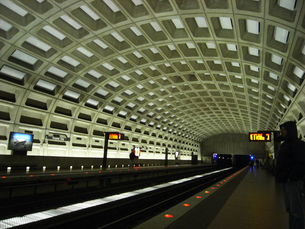 アメリカの地下鉄の写真素材 [FYI00176748]