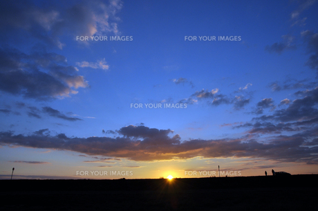 Morning Horizon Franceの写真素材 [FYI00176756]