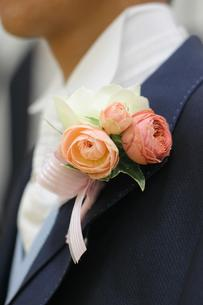 胸の花の写真素材 [FYI00176871]