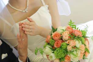 結婚しましたの写真素材 [FYI00176874]