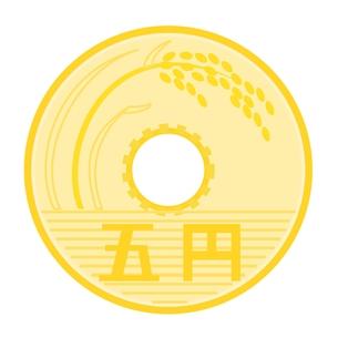 5円玉の素材 [FYI00176942]