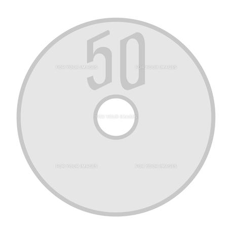 50円玉の素材 [FYI00176947]