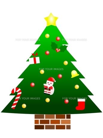 クリスマスツリーの素材 [FYI00176970]