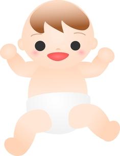 笑う赤ちゃんの素材 [FYI00176993]