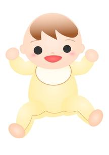 笑う赤ちゃんの素材 [FYI00176998]