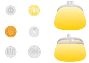 財布と小銭の素材 [FYI00177026]