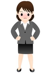 スーツの女性の写真素材 [FYI00177032]