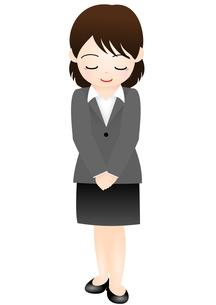 スーツの女性の写真素材 [FYI00177043]