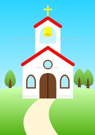 教会の素材 [FYI00177073]