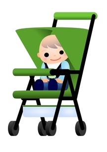 ベビーカー 赤ちゃんの素材 [FYI00177100]