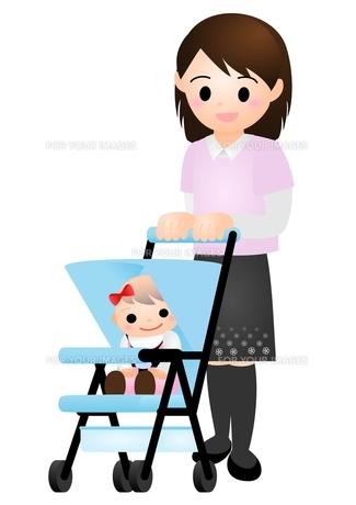 赤ちゃんとママの素材 [FYI00177117]
