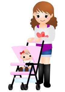 赤ちゃんとママの素材 [FYI00177129]
