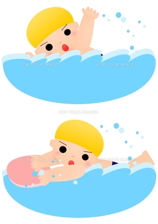 水泳 男の子の素材 [FYI00177148]