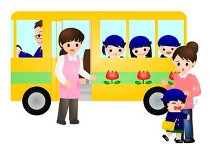 幼稚園バス 泣くの写真素材 [FYI00177154]