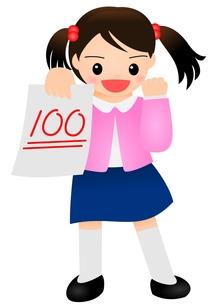 100点 女の子 こどもの写真素材 [FYI00177194]