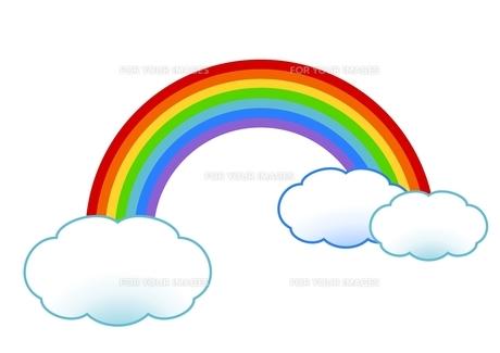 虹の素材 [FYI00177339]