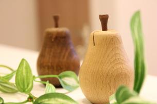 木製オブジェインテリアの写真素材 [FYI00177367]