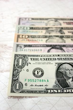 ドル紙幣の写真素材 [FYI00177409]