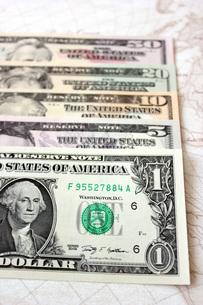 ドル紙幣の写真素材 [FYI00177418]