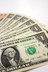 USドル紙幣の写真素材 [FYI00177421]