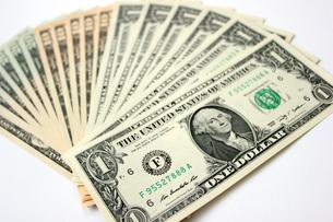 USドル紙幣の写真素材 [FYI00177426]