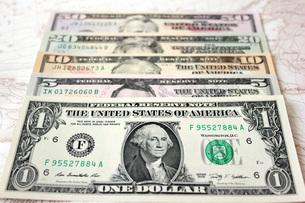ドル紙幣の写真素材 [FYI00177427]
