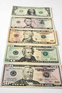 ドル紙幣の写真素材 [FYI00177443]