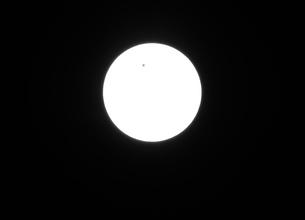 金星の太陽面通過の写真素材 [FYI00177472]