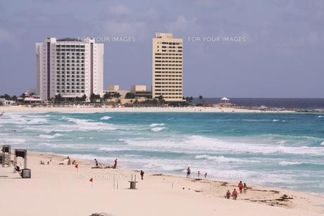 カリブ海 リゾート メキシコの写真素材 [FYI00177486]