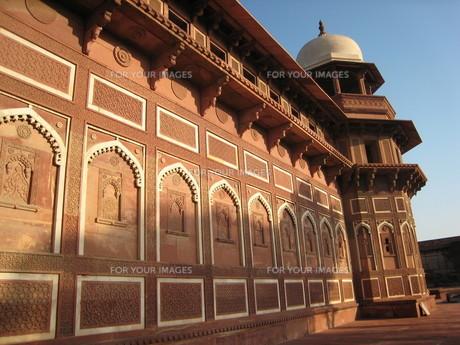 アーグラ城塞 インドの写真素材 [FYI00177487]