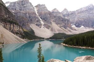 カナダ モレーンレイクの写真素材 [FYI00177492]