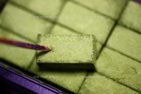 抹茶チョコの写真素材 [FYI00177498]
