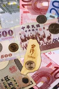 台湾の通貨の写真素材 [FYI00177509]