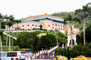 国立故宮博物院 台北 台湾の写真素材 [FYI00177567]