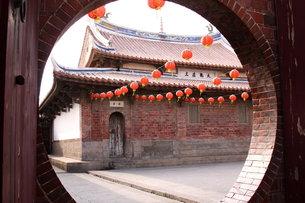 龍山寺 台湾の写真素材 [FYI00177579]