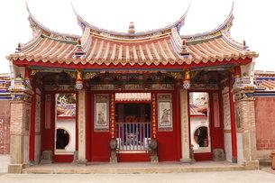 台湾のお寺 文武廟 関羽の写真素材 [FYI00177583]