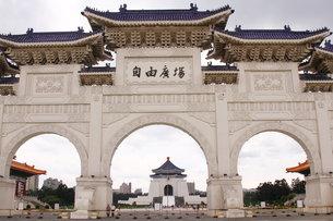 中正記念堂 台北の写真素材 [FYI00177585]