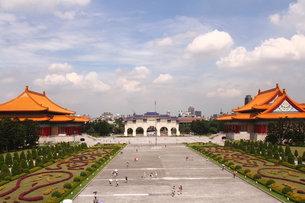 中正記念堂 台湾の写真素材 [FYI00177586]