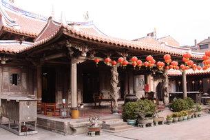 龍山寺 台湾の写真素材 [FYI00177589]
