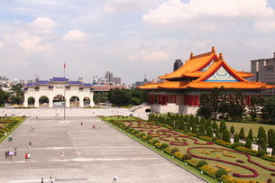 中正記念堂 国家音楽庁 台北の写真素材 [FYI00177592]