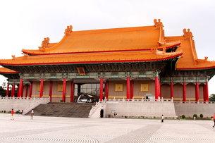 中正記念堂 国家音楽庁 台湾の写真素材 [FYI00177593]