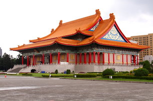 中正記念堂 国家音楽庁 台湾の写真素材 [FYI00177596]