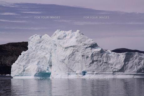 氷山 グリーンランドの写真素材 [FYI00177597]