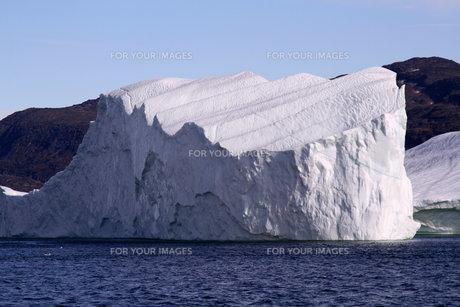 氷山 グリーンランドの素材 [FYI00177611]