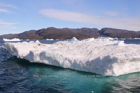 氷山 グリーンランドの写真素材 [FYI00177619]