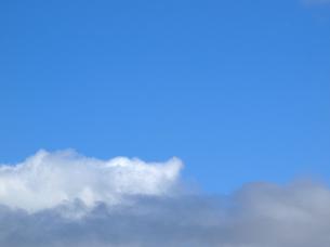 北海道 空と雲 すれ違いの写真素材 [FYI00177779]