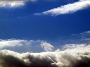 北海道 の冬雲の写真素材 [FYI00177847]