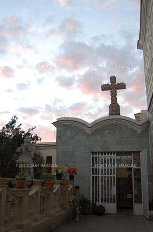 オアハカの教会の素材 [FYI00177907]