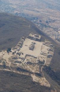 上空から見たモンテアルバン遺跡の素材 [FYI00177931]