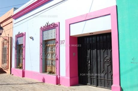 メキシコの通りの素材 [FYI00177934]